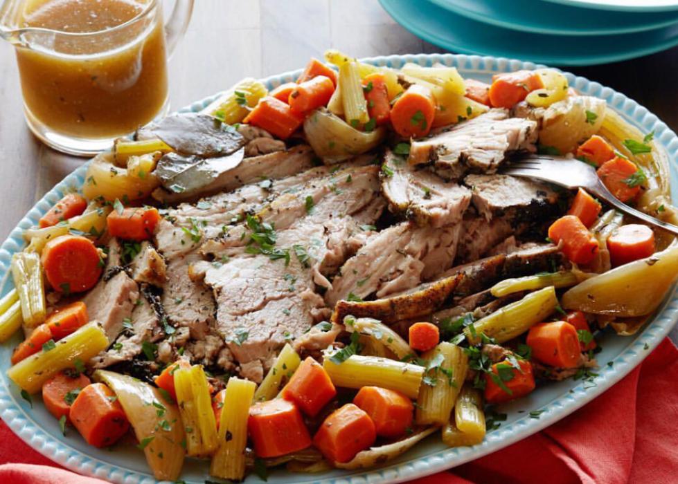 Свинина запеченная – кулинарный рецепт