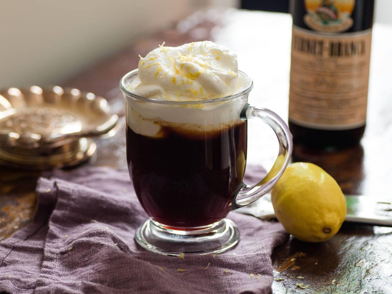 Рецепт коктейля ирландский кофе (irish coffee)