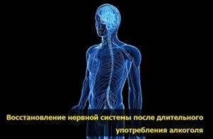 Как восстановить нервную систему после алкоголя