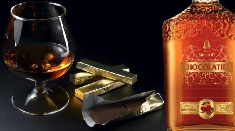 Рецепт шоколадного ликера