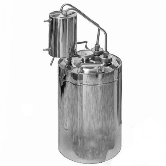 Спиртовар истомина - самогонный аппарат двойной перегонки