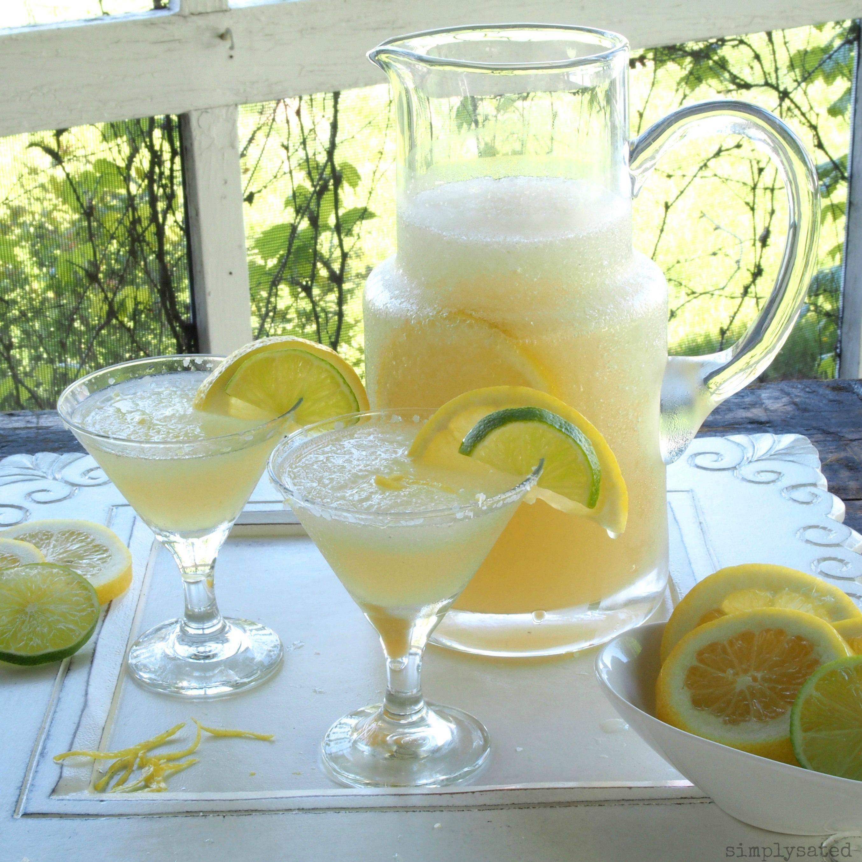 Летние коктейли слимончелло