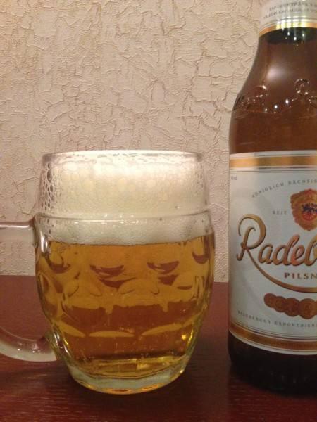 Немецкое пиво radeberger pilsner