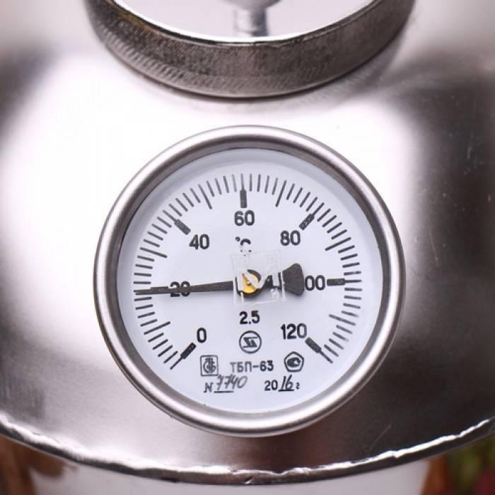 Выбор и важность установки термометра на самогонный аппарат. для чего нужен и какой подойдет?