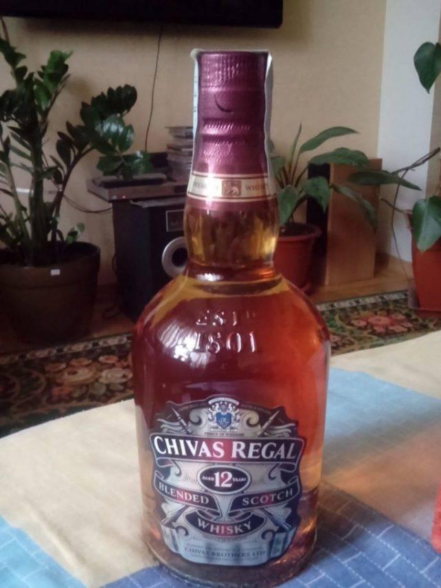 Полное описание алкогольного напитка виски chivas regal или чивас ригал?