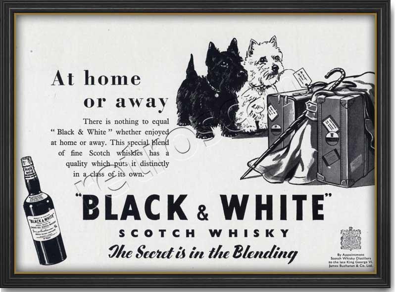 Виски блэк энд уайт — история алкоголя