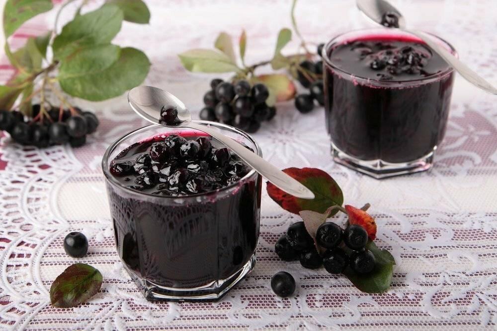 Рецепты из черноплодной рябины