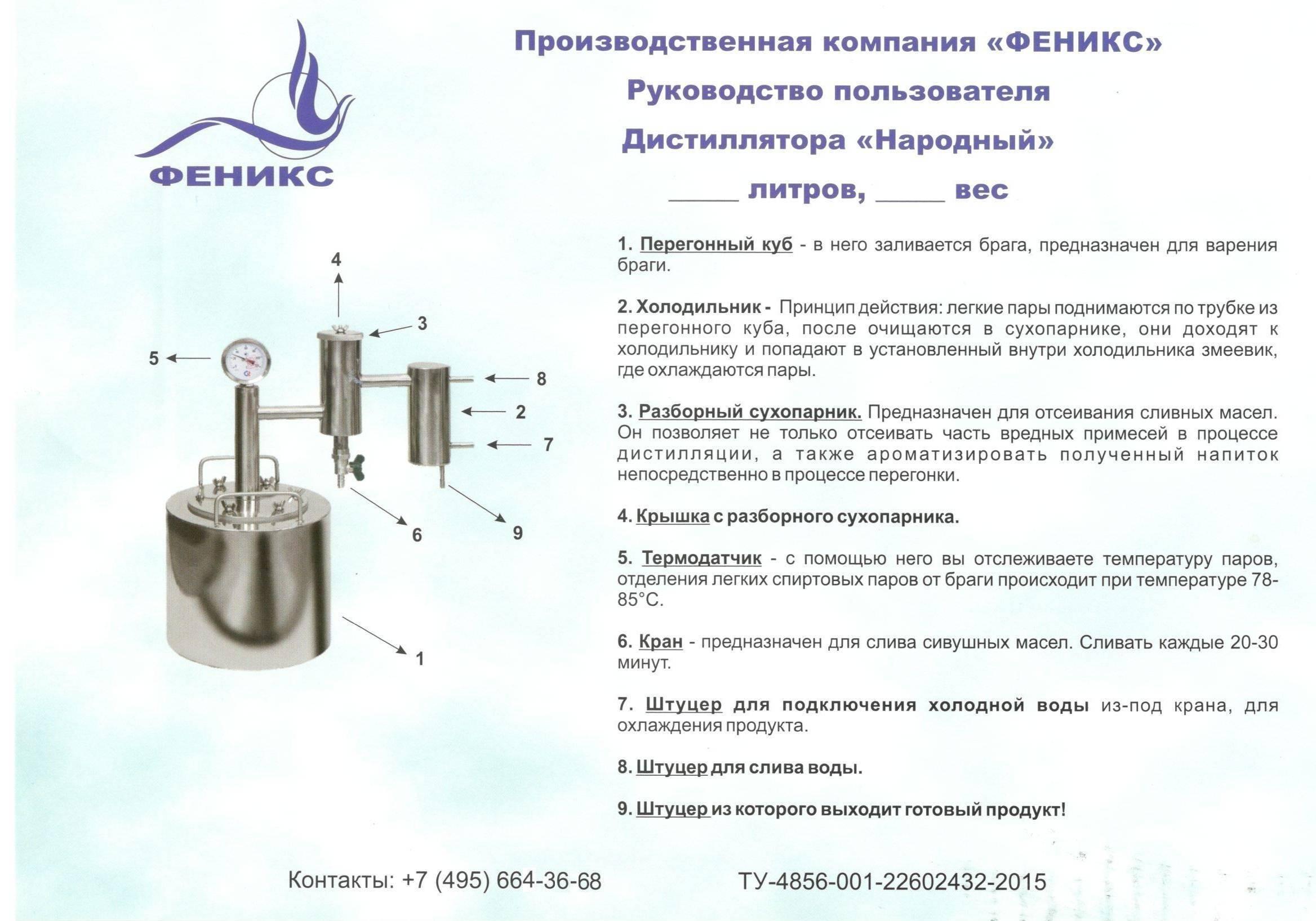 Принцип работы электрического самогонного аппарата