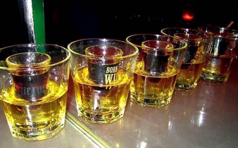 Адская смесь: самые коварные алкогольные напитки. коктейль глубинная бомба в домашних условиях ирландская бомба коктейль