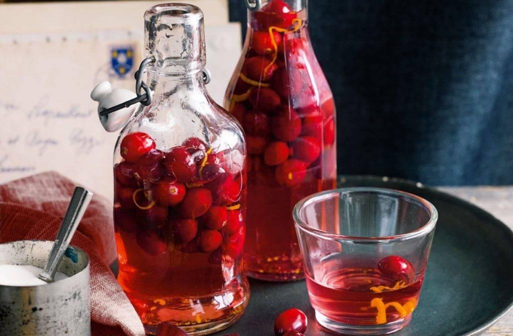 Настойка из черноплодной рябины на спирту