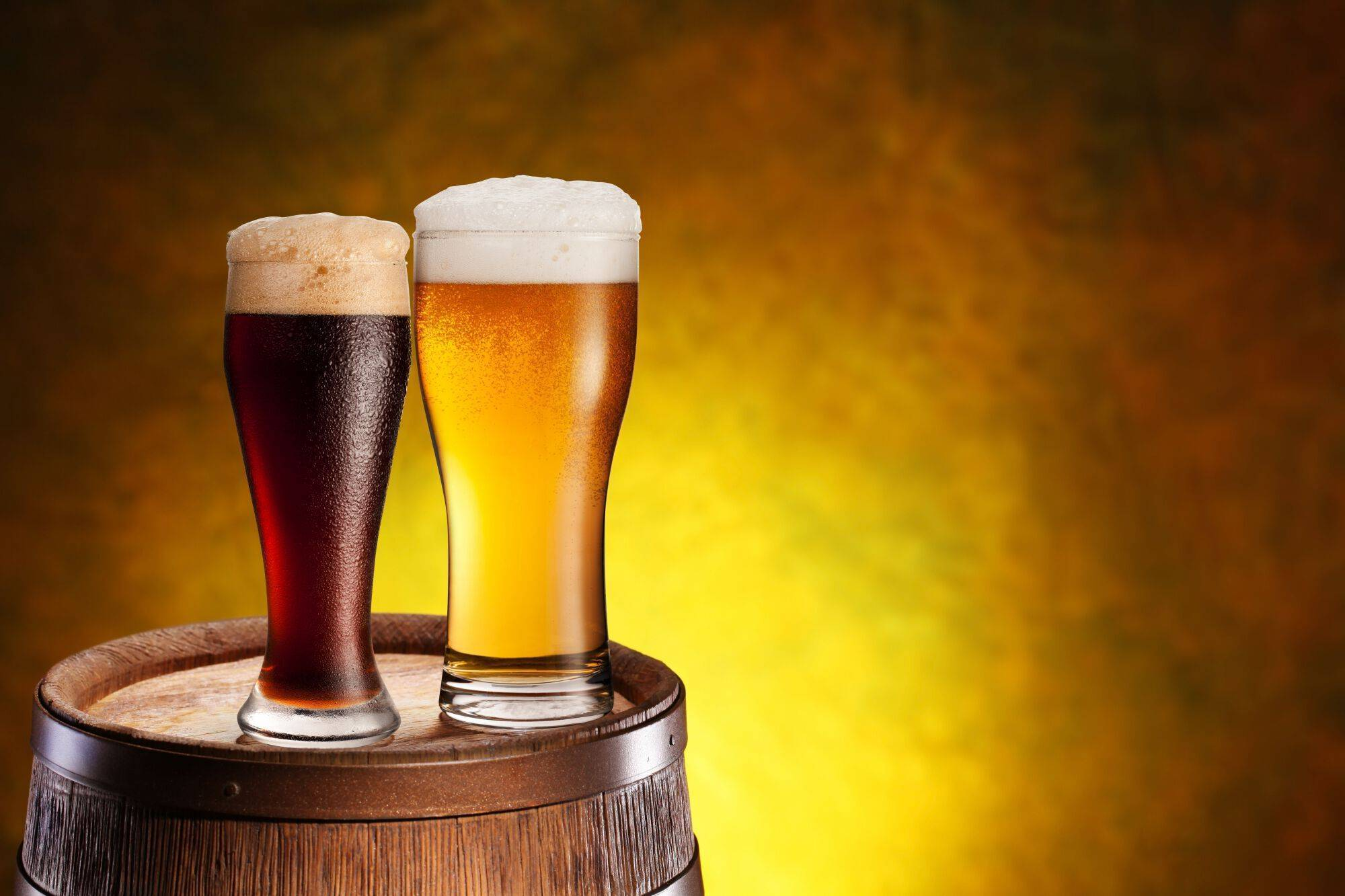 Какое пиво полезнее темное или светлое: особенности напитков