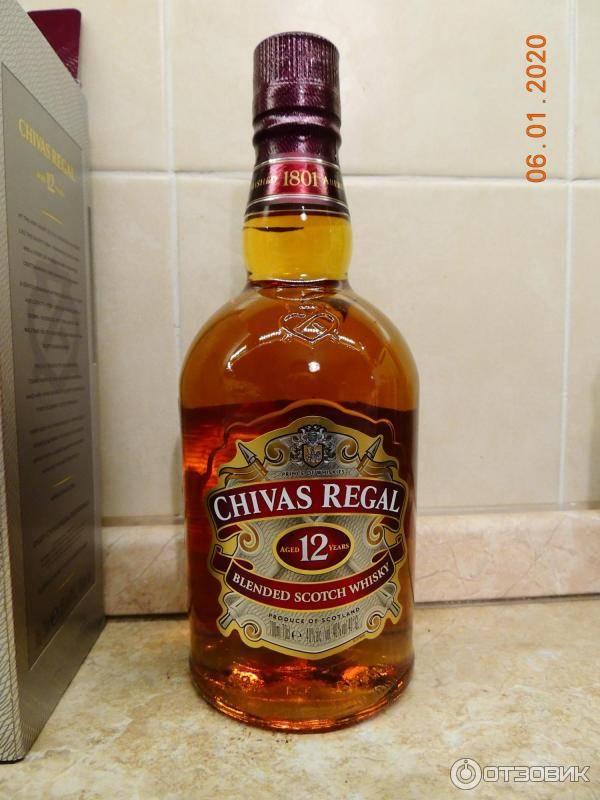 Обзор шотландского скотча chivas regal чивас ригал