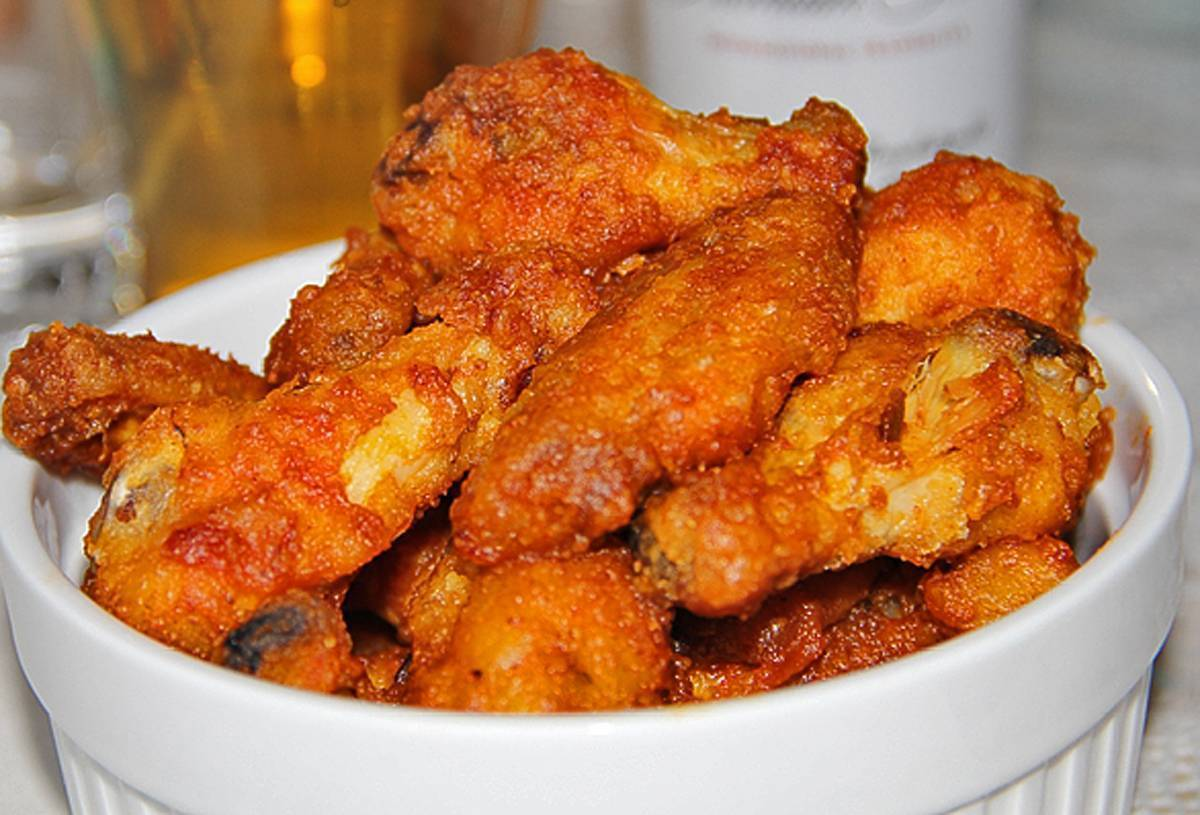 Куриные крылья к пиву – кулинарный рецепт