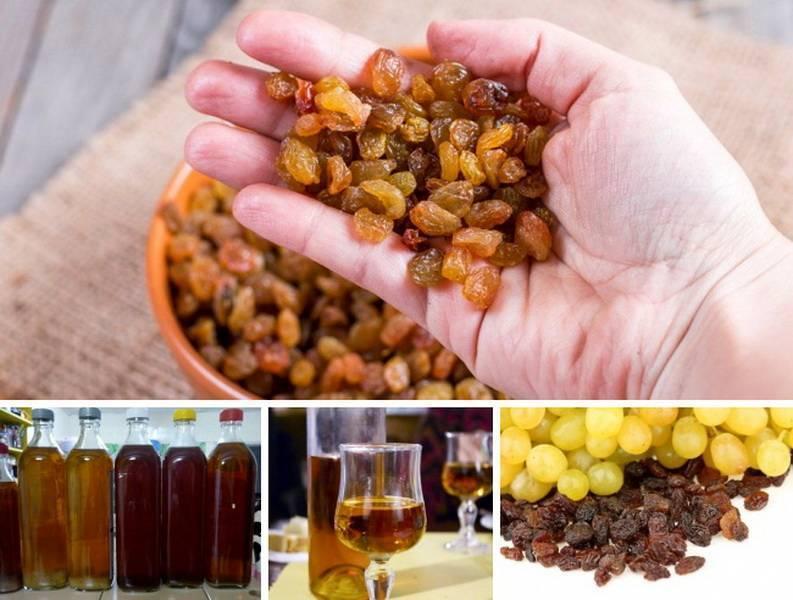 Рецепты изюмного вина