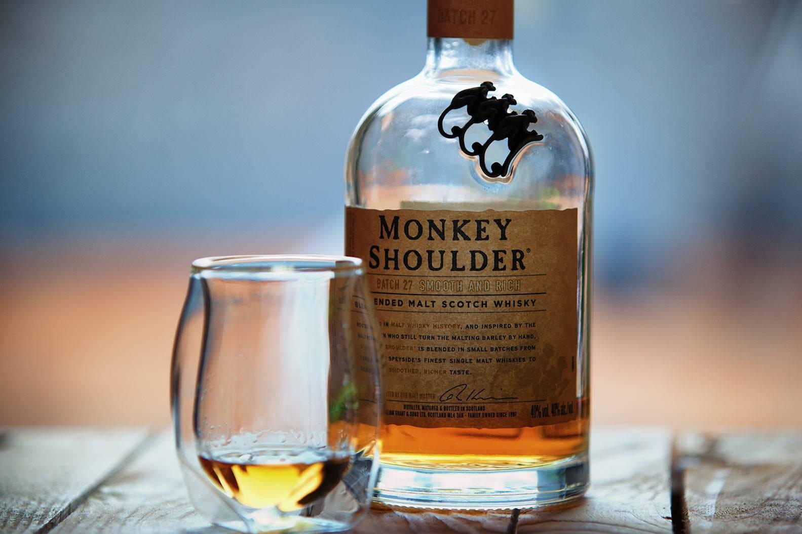 Виски monkey shoulder (манки шолдер, обезьянье плечо)