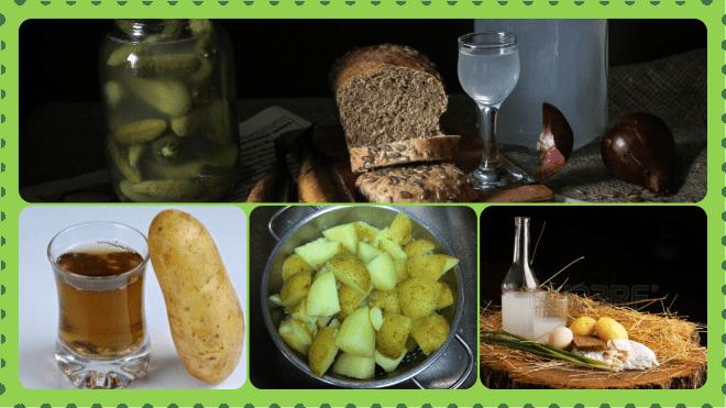 Рецепты и технология изготовления самогона без сахара