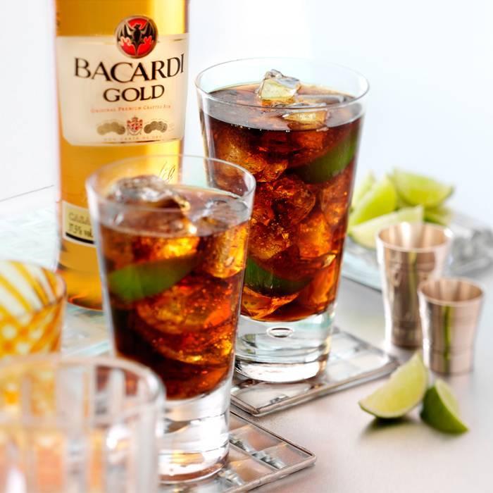 Рецепты коктейлей с бакарди
