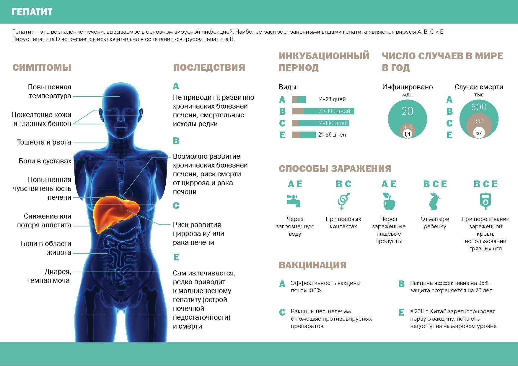 Причины повышенной температуры при циррозе печени