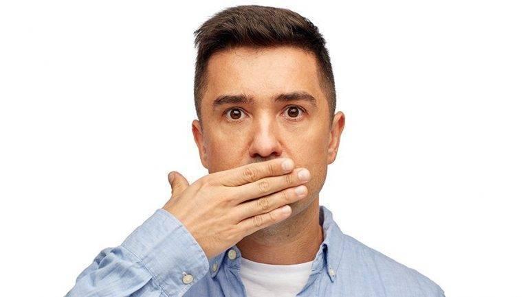 Убираем запах перегара изо рта подручными средствами
