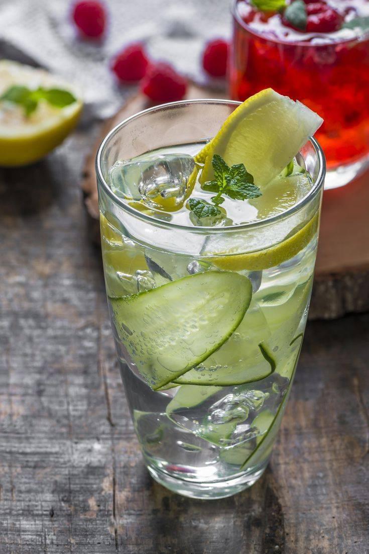 Рецепты приготовления коктейлей с джином