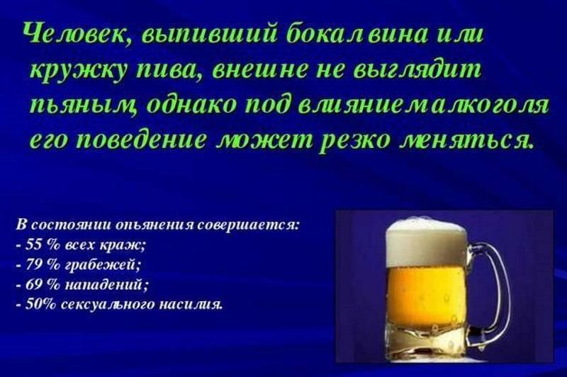 Что лучше пить: пиво, водку или вино?