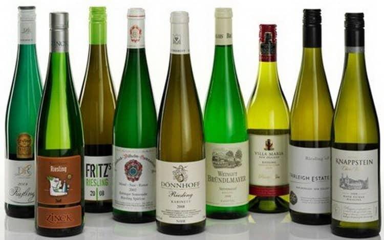 Вино рислинг и его особенности