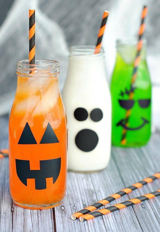 Зловещие безалкогольные коктейли на Хэллоуин