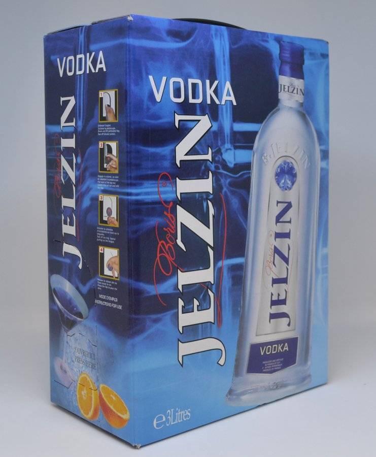 Водка ельцин (jelzin vodka): описание, история, виды марки