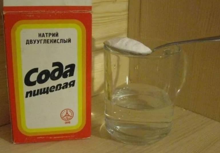 Пищевая сода от похмелья и алкоголизма
