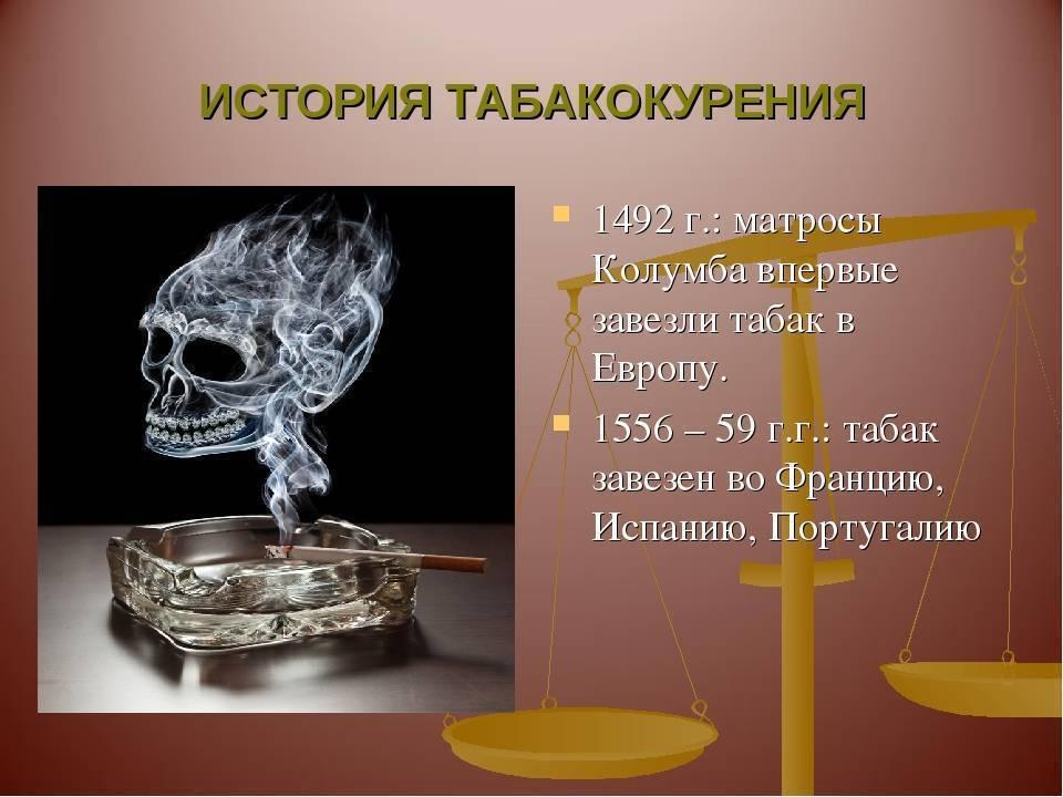 История табакокурения: когда впервые появились сигареты