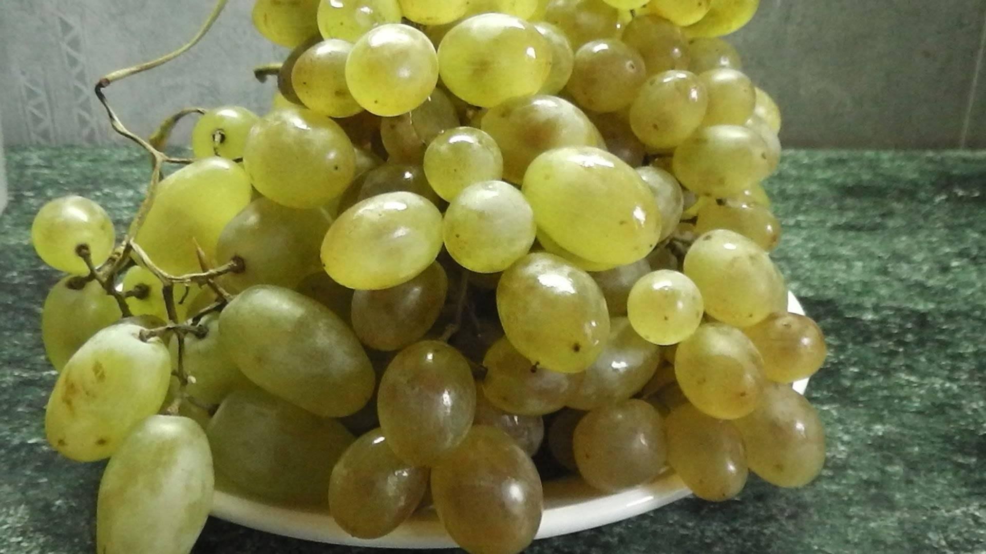 Как настоять самогон на винограде?