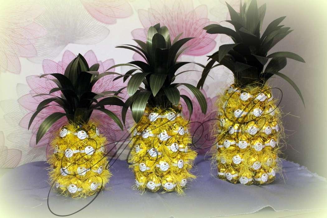 ᐉ конфетный ананас. ананас из конфет: идеи изготовления ➡ klass511.ru