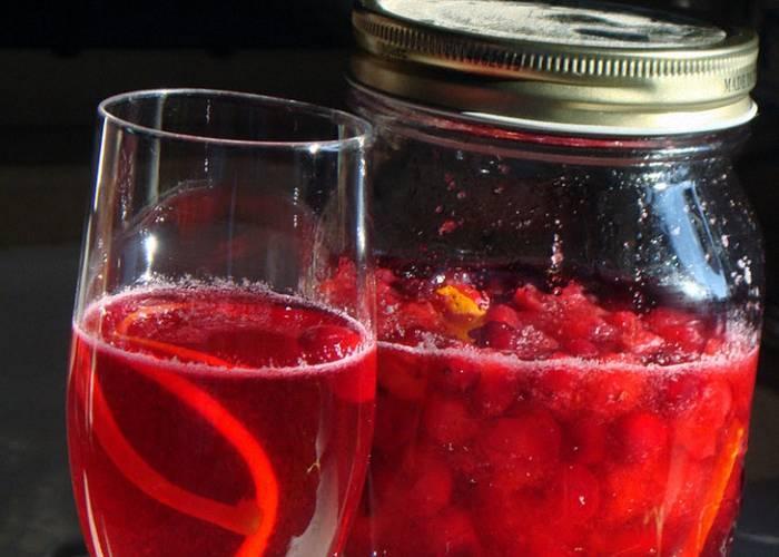 Настойка на клюкве на водке, на самогоне и на спирту: лучшие рецепты быстрого приготовления в домашних условиях