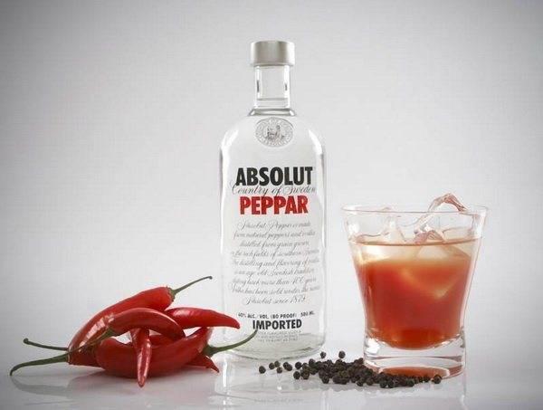 Водка с перцем от простуды (5+ рецептов, пропорции водки с медом, красным и черным перцем)