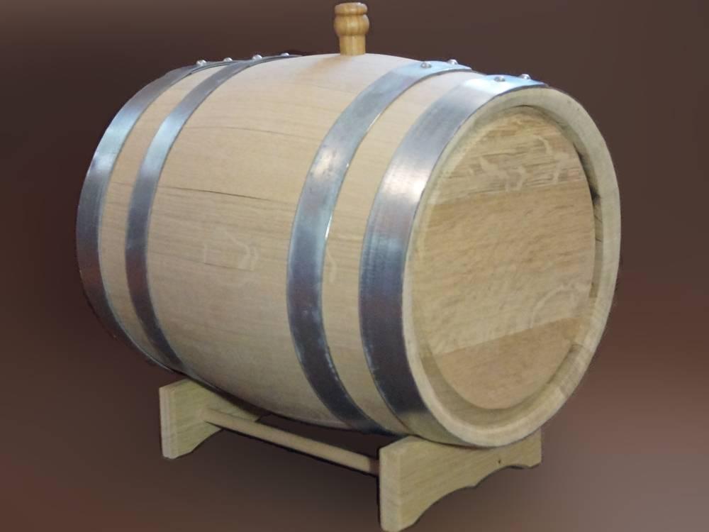 Как подготовит дубовую бочку для самогона?