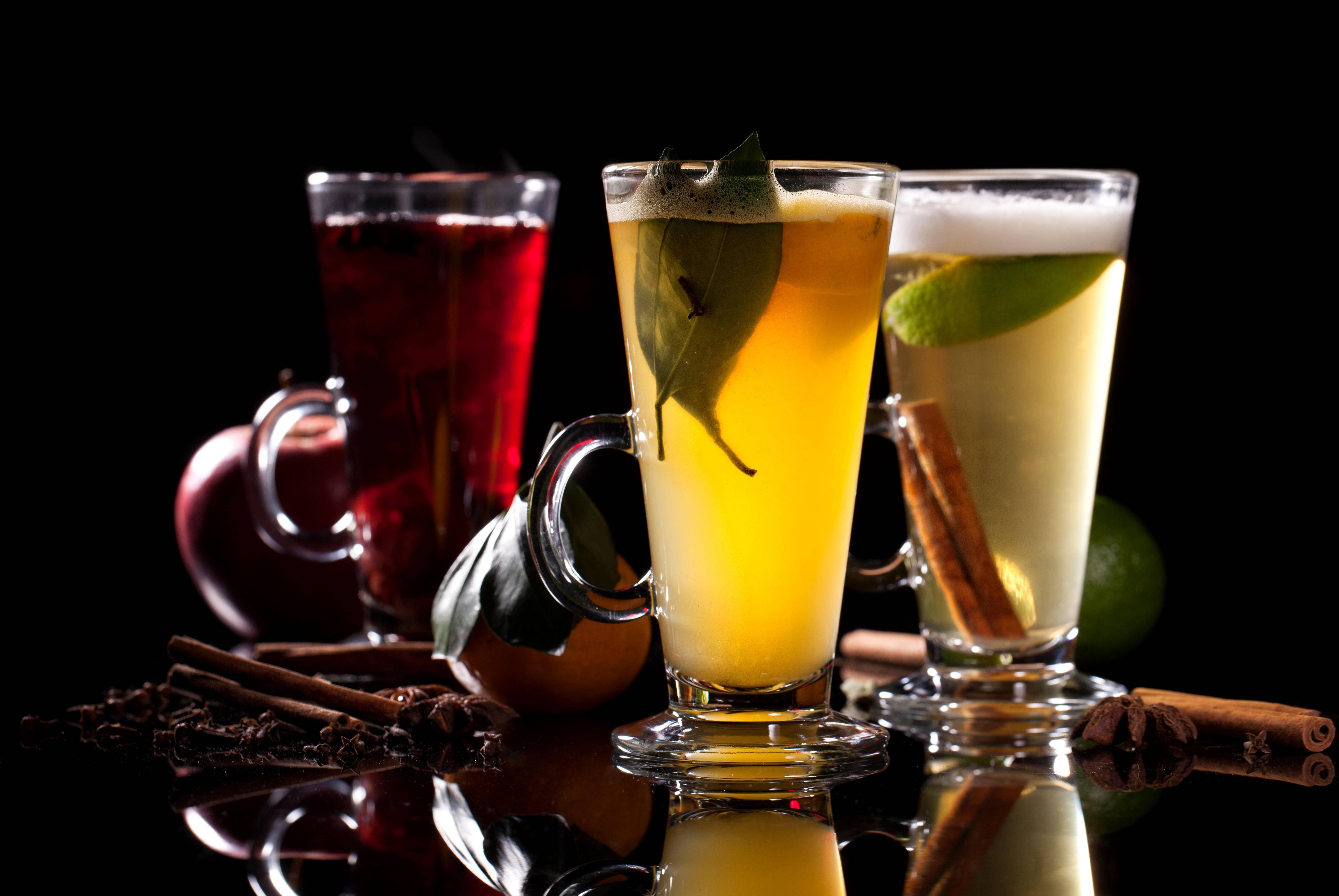 Рецепты приготовления горячих алкогольных напитков