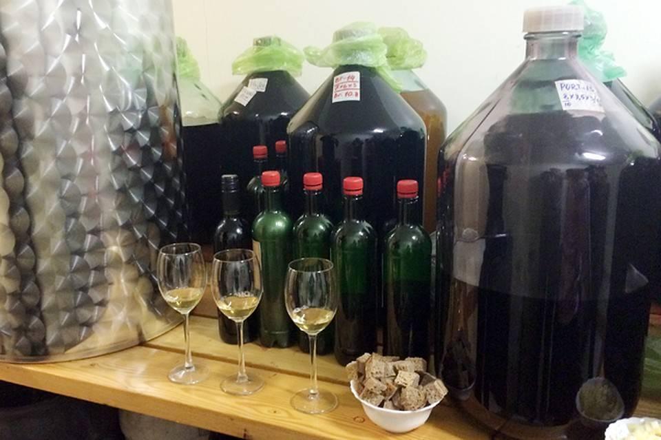 Готовим вино из винограда в домашних условиях. универсальный рецепт домашнего вина.