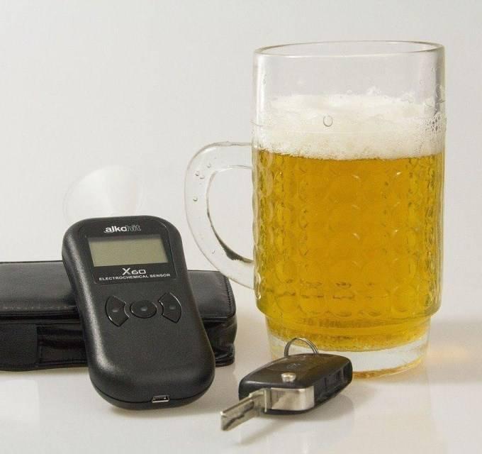 Допустимая норма алкоголя за рулем в промилле 2020 г. в россии