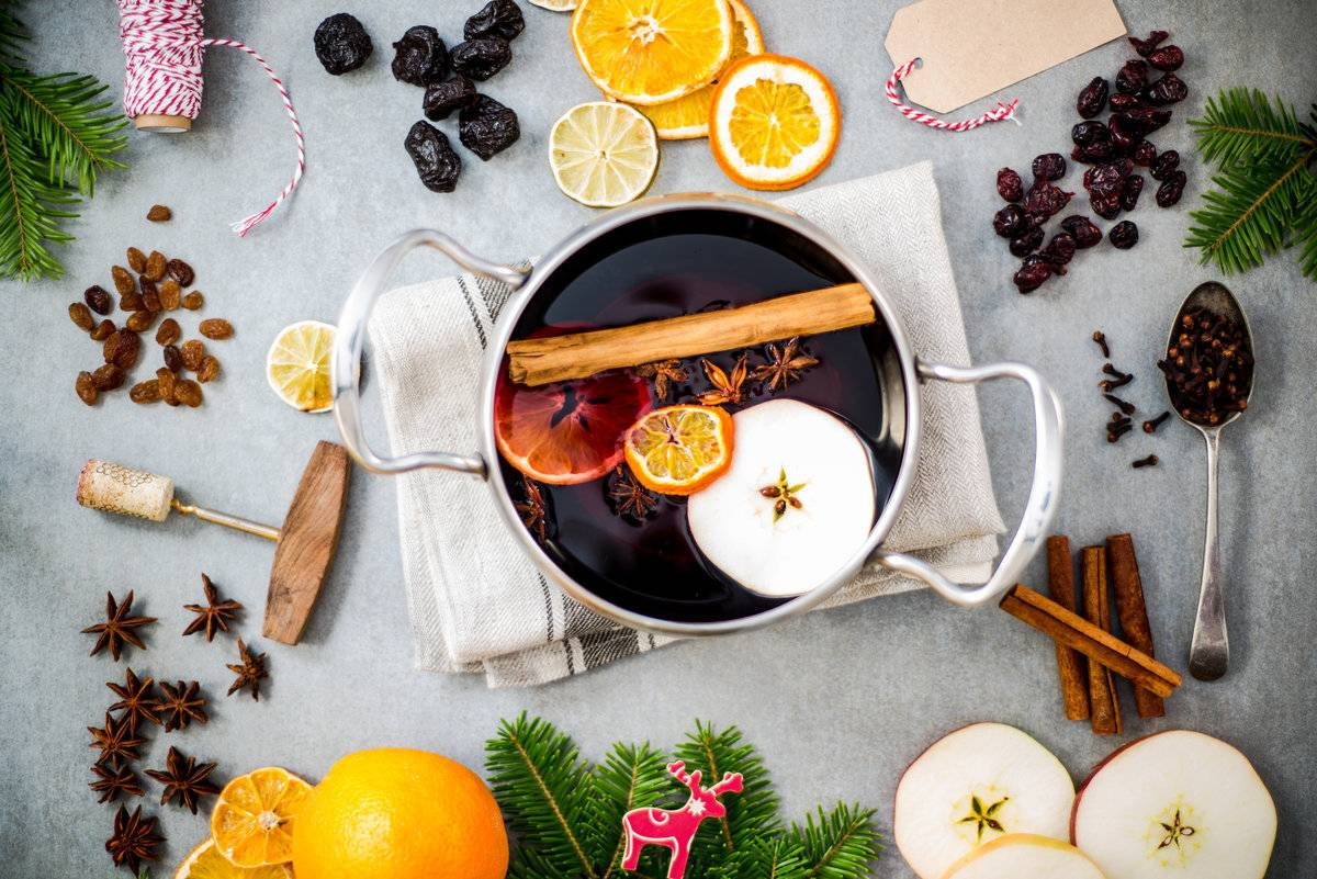 Глинтвейн с апельсиновым соком – кулинарный рецепт