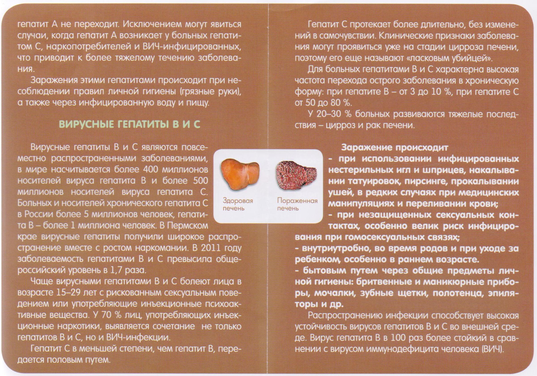 Алкоголь и гепатит c
