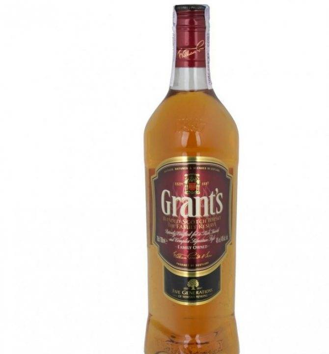 Шотландский виски grant's (грантс). история создания напитка и разновидности