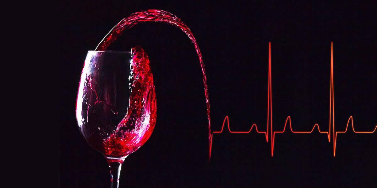 Белое вино при давлении повышает или понижает показатели?