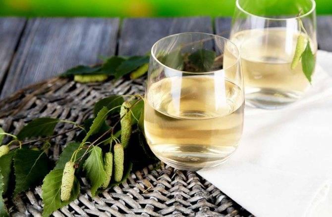 Вино из березового сока рецепт
