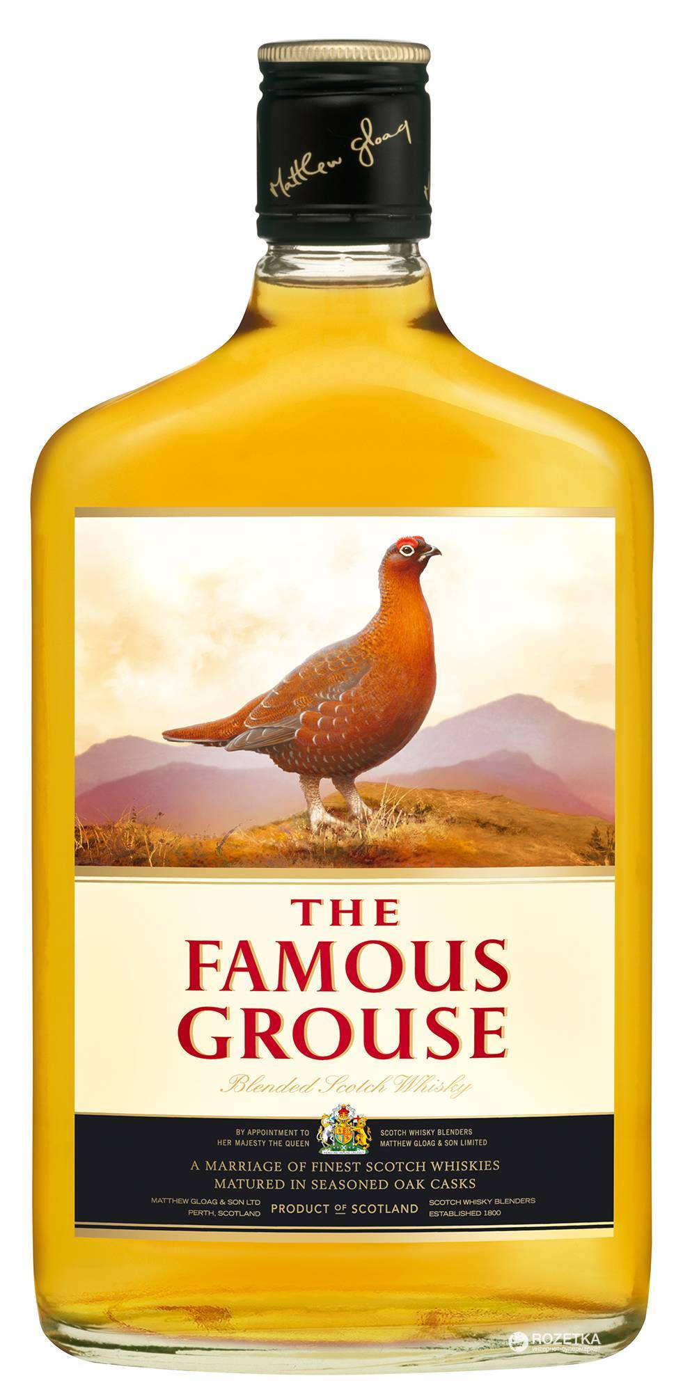 Обзор виски the famous grouse (фэймос граус)