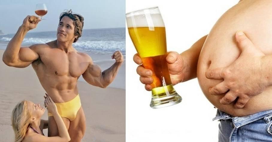 Пиво со сметаной для набора веса