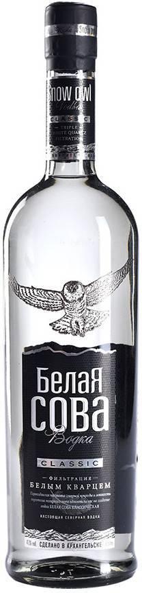 Водка белая сова, обзор