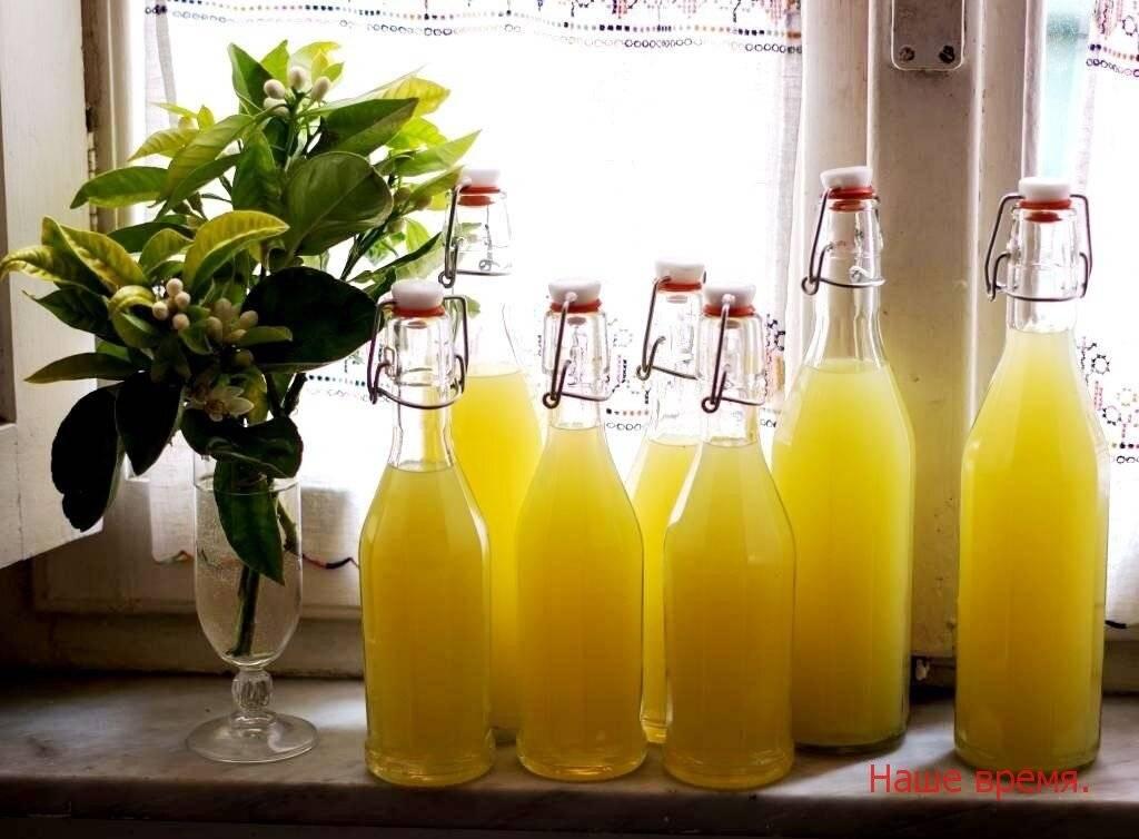 «лимончелло»: рецепт приготовления в домашних условиях