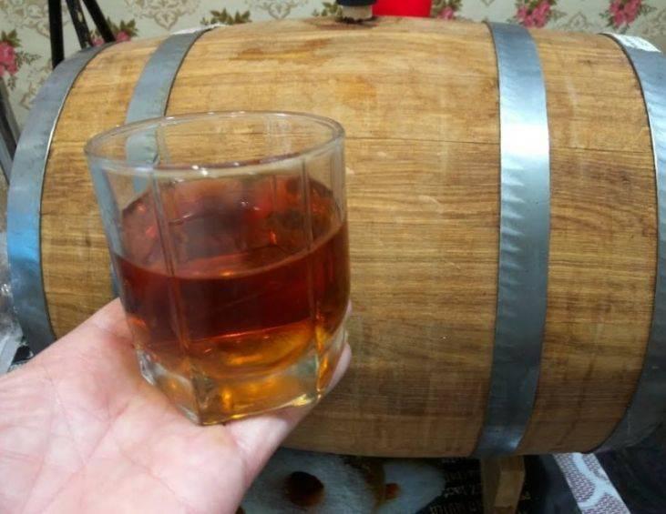 Простой рецепт виски из самогона в домашних условиях