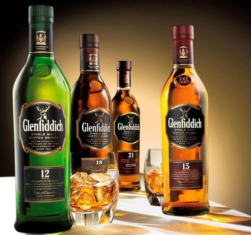 Glenfiddich шотландское односолодовое виски в мире описание скотча гленфиддик по годам