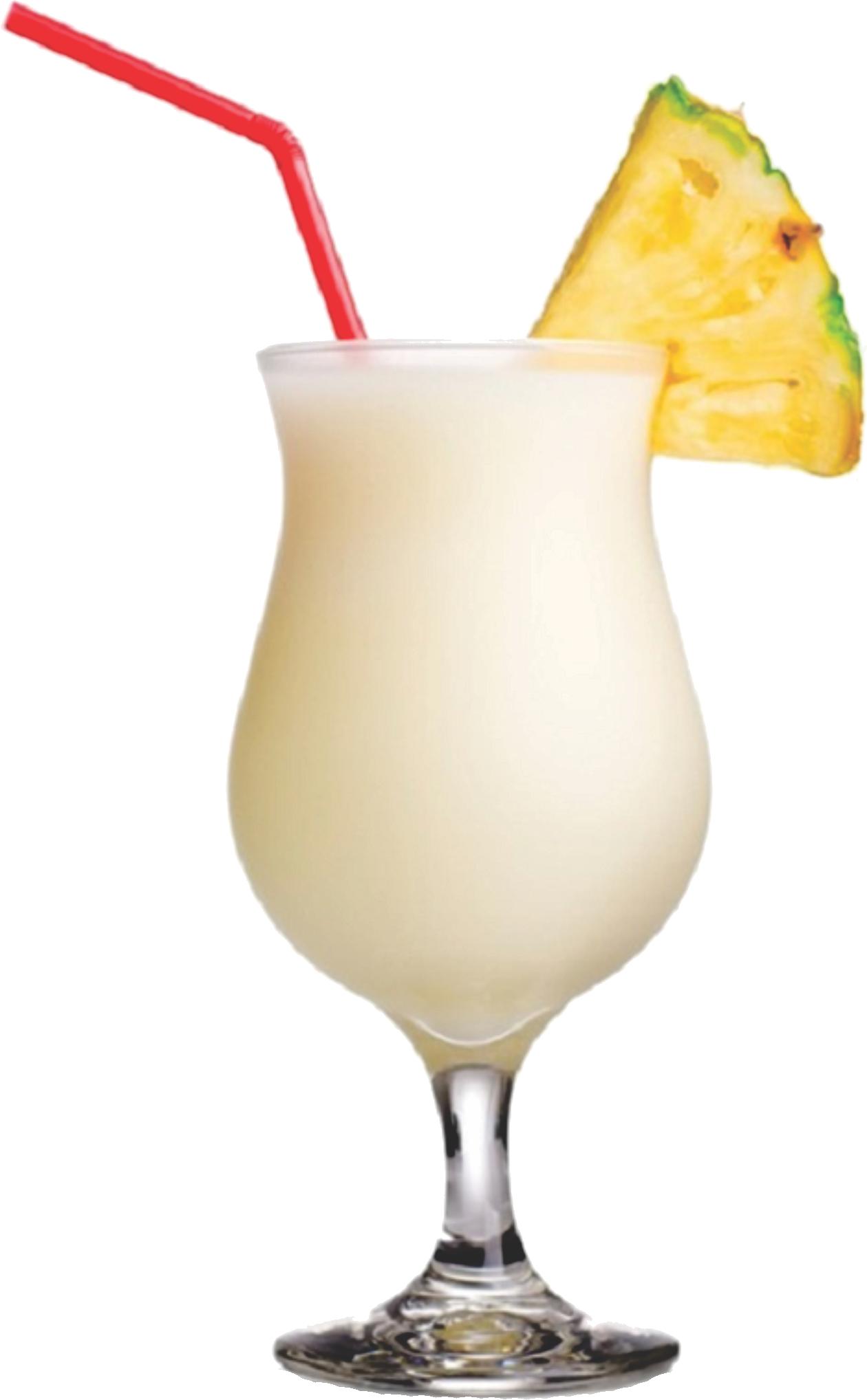 Состав алкогольного коктейля пина колада – как правильно пить